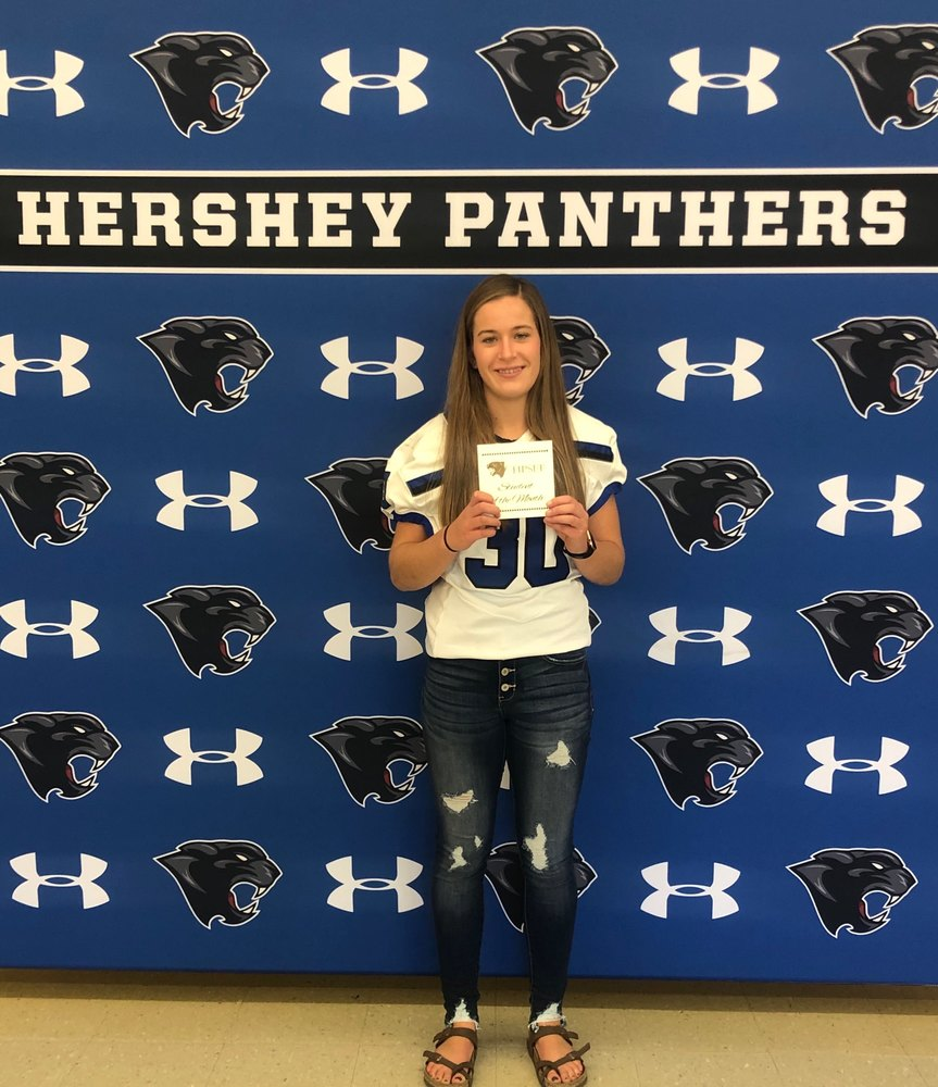 Anna Berntson- Hershey Foundation October Student of the Month