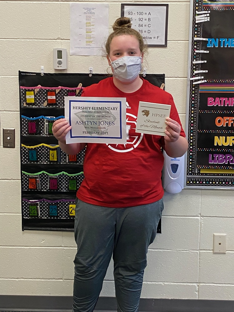 HPSEF February Student of the Month